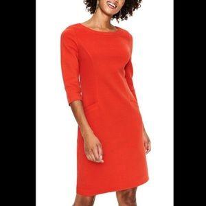 Boden Pocket Ribbed Ottoman Dress Size US 4R